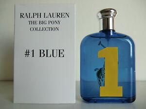 Ralph Lauren The Big Pony Collection #1 Blue EDT Nat Spray 125ml - 4.2 Oz NIB T