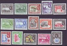 British Guiana 1954 SC 253-267 MH Set