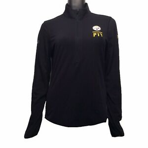 Pittsburgh Steelers Under Armour NFL Combine M 1/4 Zip Pullover Shirt $60