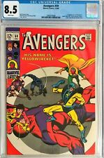 AVENGERS #59 **CGC 8.5*1ST APPEARANCE*YELLOWJACKET*CGC#2085018006 *WHITE PAGES*