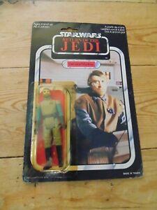 Star Wars ROTJ General Madine Carded Kenner Vintage