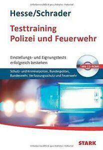Testtraining Polizei und Feuerwehr; Einstellungs- und Ei...   Buch   Zustand gut