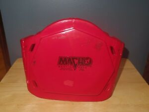 """Macho Martial Arts Chest Protector - Child Unisex - 8 5/8"""" Tall - Red - Used/VGC"""
