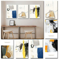 Nordic Abstract Art Wall Painting Frameless Printing Hanging Picture Home Decor