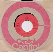 THE BEATLES  Help / I'm Down 45 on the ORANGE Capitol label