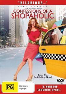 Confessions of a Shopaholic DVD Isla Fisher 2009 REGION 4 AUSTRALIA