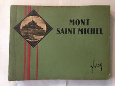 LE MONT SAINT MICHEL JEAN SCHVEITZER ILLUSTRE