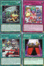 YU-GI-OH! 4 carte ojama-Set led2-de tedesco ojamatch, PAJAMA, ojamassimilation
