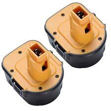 2x 12V Battery for DEWALT DC9071 DW9071 DE9037 DW9072 DW953 DW965 DW972 Cordless