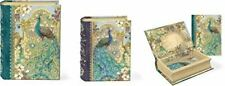 Peacocks Small Nesting Book Boxes (Set of 3) by Punch Studio