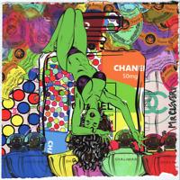 MR CLEVER ART STRONG WOMAN SUNTAN pop art street art contemporary street perfume