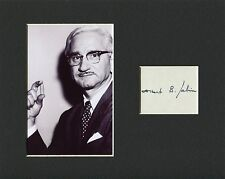 Albert Sabin Oral Polio Vaccine Developer Rare Signed Autograph Photo Display