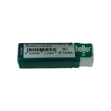Heller 1.5mm Brocas HSS Cobalto Metal 10 Pack HSS-Co-Calidad German herramientas