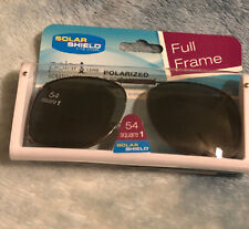 Solar Shield Polarized Clip On Lenses 100% UVA UVB 54 Scratch Resistant