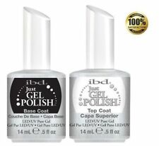 100% Authentic ibd Just Gel Polish .5oz Top and Base + FREE SHIPPING
