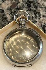 Antique Dueber 16sz. Dueber pocket watch case, Silverine! Open faced