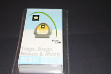 Tags Bags Boxes and more Cricut cartridge NIB
