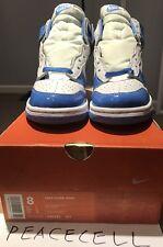 2001 Nike Dunk High Footaction Exclusive Carolina Blue SZ 8