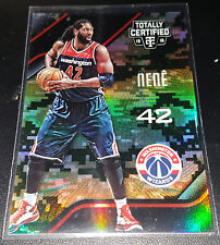 Nene 2015-16 Totally Certified MIRROR CAMO Parallel Insert Card (#'d 09/25)