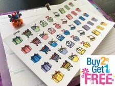 PP420 -- Cute Doodle Icons Life Planner Stickers for Erin Condren (45pcs)