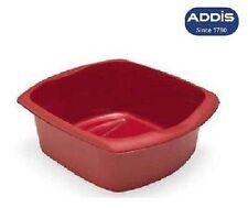 Addis Large Plastic Washing Up Bowl Rectangular Kitchen Basin Cutlery Sink Tidy