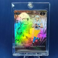 Justin Herbert ROOKIE CHARGERS EXCLUSIVE SILVER REFRACTOR CARD -INVESTMENT -CASE