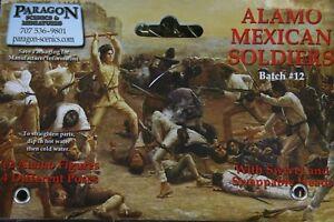 Paragon Scenics & Mintures Alamo Mexican Soldiers
