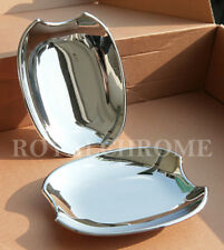 Pair ROYAL CHROME Door Handle Cup Scoops for Mercedes SLK CLK R170 C208 A208 AMG