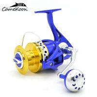 CAMEKOON PR9000 Saltwater Spinning Fishing Reel - over 44 LB Carbon Fiber Drag