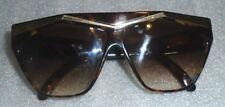 pair women's Charles Jourdan horn frame sunglasses