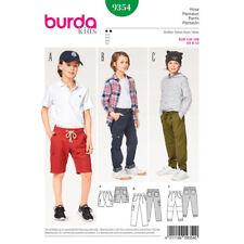 Burda Kids Easy SEWING PATTERN 9354 Girls Shorts & Trousers/Pants 6-13
