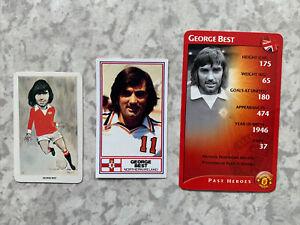 George Best Flik Rothmans Trumps Football Cards - Manchester United Los Angeles