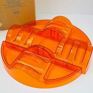 2011 Avon Large Orange Taco Party Platter NEW