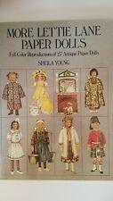 More Lettie Lane Paper Dolls Full Color Reproductions Of 27 Antique Paper Dolls
