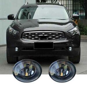 For Infiniti QX70/Q60/Q70/QX50 A Pair NEW Driving LED Bulb Fog Light k H11 36W