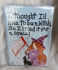Greetings Card - I Thought I'd Like to be a Witch, So I tried it for a Spell