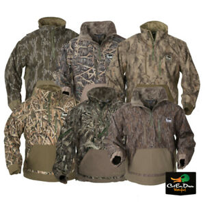 NEW BANDED GEAR CHESAPEAKE 1/4 QUARTER ZIP CAMO PULLOVER JACKET - B1010006 -