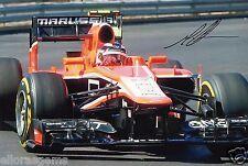 """Formula one F1 pilote max chilton hand signed photo 12x8"""" ai"""