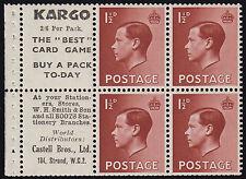 George VI (1936-1952) British Victorian Stamps