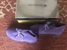 New J.CREW Crewcuts Girls' Colored Suede MacAlister boots K13 Barbary Plum