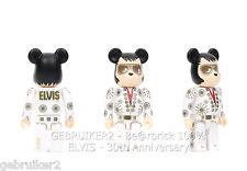Medicom Toy Bearbrick 100% ELVIS 30th ANNIVERSARY Be@rbrick Elvis Presley MIB
