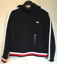 Brand New Tommy Hilfiger Women's Navy Hoodie - Size XS - RRP $79.99