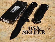 "HOME 10 3/4"" OPEN belt clip glass breaker belt CUTTER POCKET KNIFE FREE SHIPPING"