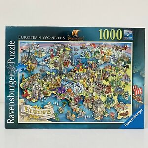 Ravensburger 1000 Pieces Jigsaw Puzzle European Wonders Brand New Sealed Gift