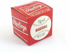 Vintage Rawlings Official League Baseball 65SC c1970s NOS/Unused in Original Box