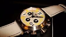 BRM V-15 Automatic Chronograph & Date. Swiss 7753 Valjoux Movement.  Brand New!
