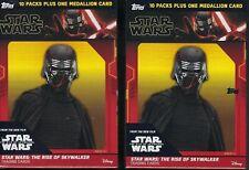 (2) 2019 Topps Star Wars Rise Of Skywalker MOVIE ED. Cards 61c Blaster Box LOT
