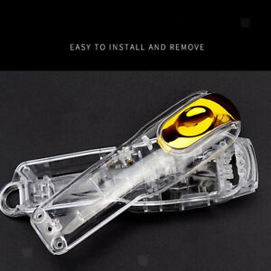 DIY Clear Front Rear Housing Shell Case Cover for Wahl 8148/8591/8504 Hair