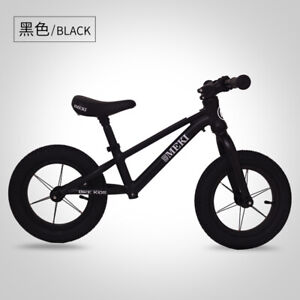 "14""   Aluminum Three Triangle  Running First Training Bike Kids  Balance Bike"