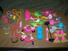 Vintage Barbie Lot of Misc. Sports Equipment.49 pieces